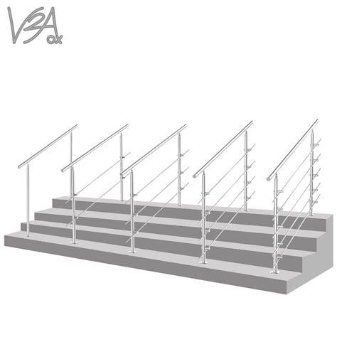 altezza corrimano scala ringhiera acciaio inossidabile parapetto corrimano scala