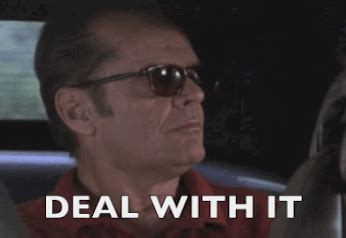 Deal With It Meme - animated meme jack nicholson gifs