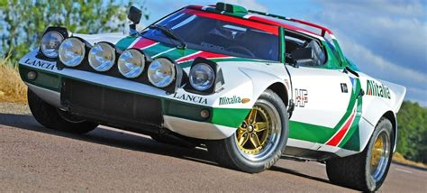 Lancia Stratos Rally Lancia Stratos Rally 3d Model Humster3d