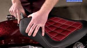 how to install a motorcycle seat on your harley davidson