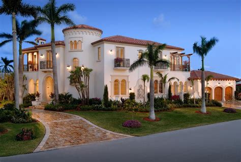 mediterranean mansion 4 895 million mediterranean home in delray beach fl