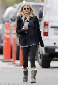 Goldie Black goldie hawn looks youthful in relaxed sportswear in los