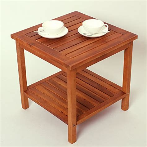 tavolo esterno legno tavolo tavolino in legno quot athene quot arredo esterno