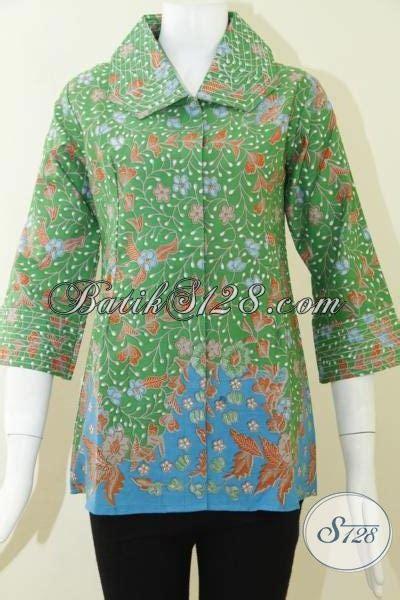 Model Baju Besar Baju Batik Wanita Model Krah Benang Besar Bls795p S