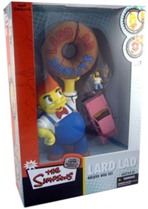 Mcfarlane Simpsons Boxset toydorks mcfarlane toys mcfarlane simpsons box set lard lad
