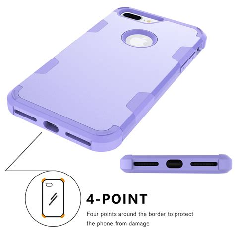 Hybrid Rugged Armor For Iphone 7 7 Plus 47 for iphone 7 7 plus rugged shockproof rubber hybrid armor cover ebay