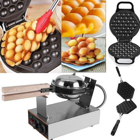 Oven Waffle electric egg maker oven waffle pan kitchen baker machine non stick mf ebay