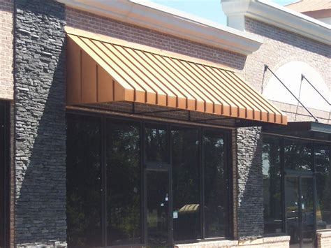 standing seam awning standing seam awnings affordable custom awnings inc