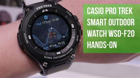 Casio Protrek Wsd F20 Like New casio pro trek smart outdoor wsd f20 on