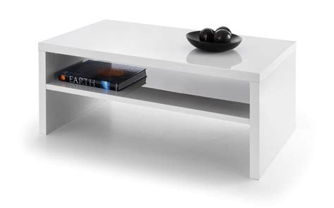 Coffee Table White Gloss Metro High Gloss Coffee Table White Julian Bowen Limited