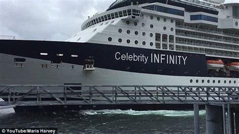 where is infinity cruise ship now cruises infinity ship crashes into dock in