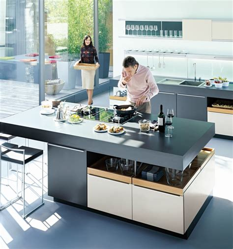 Stove In Kitchen Island Kitchens From German Maker Poggenpohl