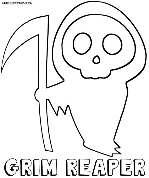 halloween coloring pages grim reaper halloween coloring pages grim reaper halloween costume