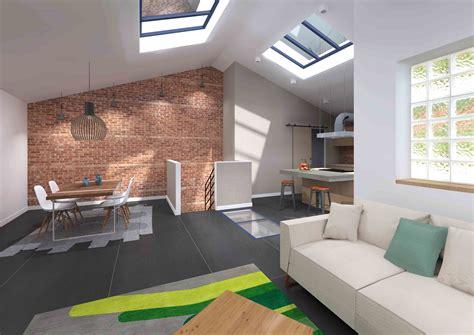 maison hangar transformation hangar en loft industriel en duplex avec