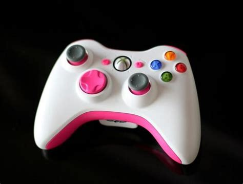 acrylic paint xbox controller diy painted xbox controller with a touch of pink