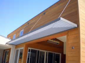 Awnings Metal by Awning Steel Awning