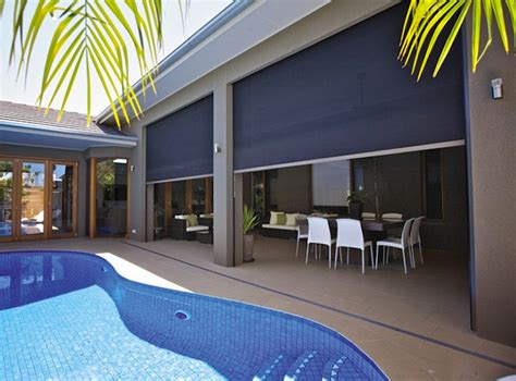 Patio Zip Screens Zip Screen 174 Awnings Noosa Screens And Curtains Screens