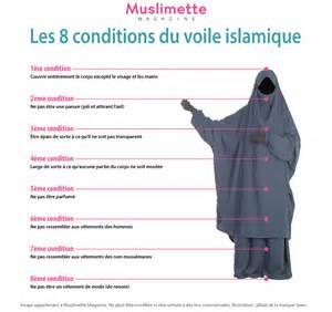 char3i les conditions du voile islamique