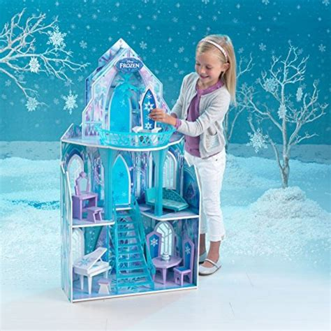 frozen doll house kidkraft disney frozen ice castle dollhouse