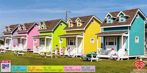 warna cat  cocok  rumah kayu pintar mencocokan