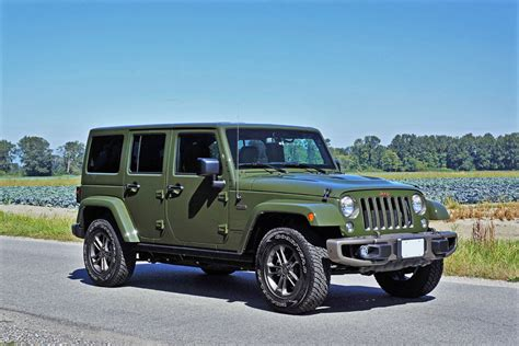 Jeep Wrangler Unlimited Anniversary Edition 2016 Jeep Wrangler Unlimited 75th Anniversary Edition Road