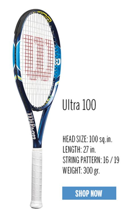 Raket Tenis Raket Wilson Ultra Xp 100s Spin Effect wilson 2015 ultra tennis rackets tennis plaza