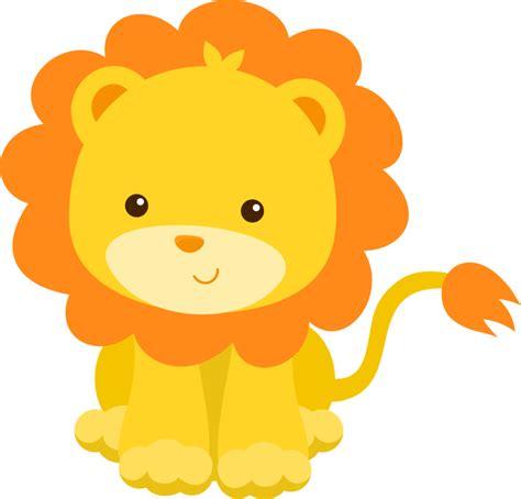 imagenes de leones kawaii animales bebes tiernos animados para baby shower buscar