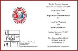 eagle scout court of honor program template eagle scout invitation eagle scout