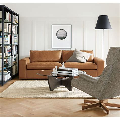 room and board harding sofa harding leather guest select sleeper sofas shelves