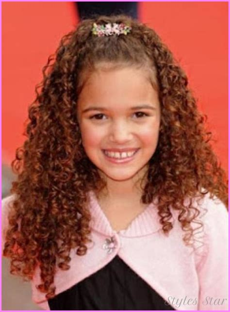 hairstyles toddlers curly hair haircuts for girls with really curly hair stylesstar com