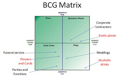 bcg matrix template images