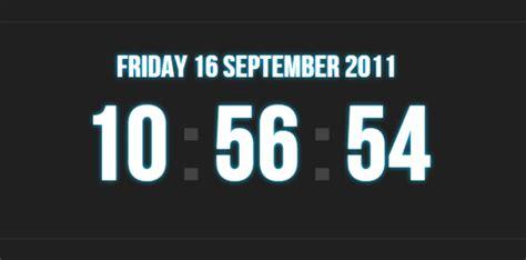 membuat jam digital pada web julia blog s membuat jam digital cantik dengan jquery