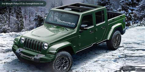 2018 jeep wrangler pickup find 2018 jeep wrangler jl info pictures pricing and