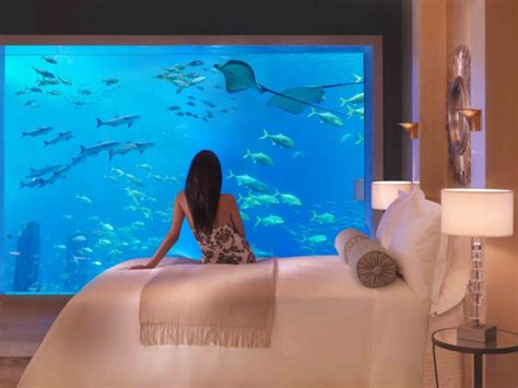 atlantis resort underwater rooms hotel atlantis dubai underwater room luxuo