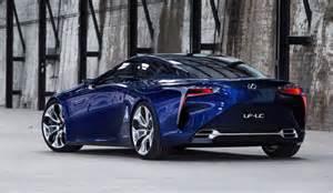 Connected Car Lexus Lexus Lf Lc Concept Confirmed For Production Report