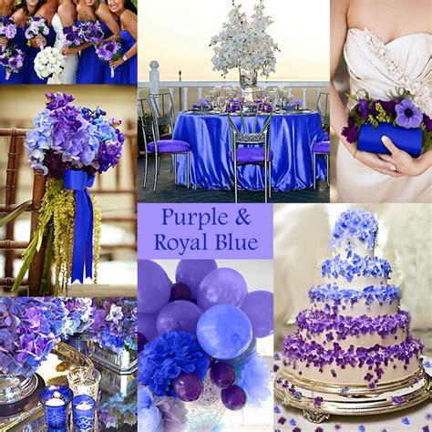 purple wedding color combination options exclusively weddings purple wedding color combination options royal blue