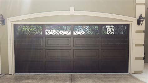 garage doors entry iron door custom wrought iron doors