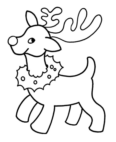 easy santa coloring pages free reindeer colouring pages reindeer free alphabet