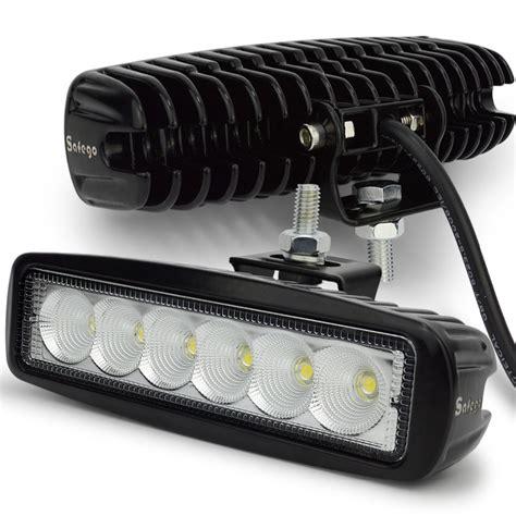 12 volt tractor work lights 12 volt 18w led work light bar l 12v led tractor work