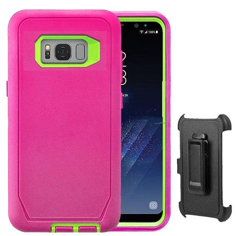 Casing Custom Hardcase Samsung Galaxy S8 S8 Plus Powerpuff Dis rugged samsung galaxy s8 s8 plus belt clip fits otterbox defender ebay