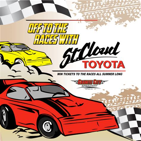 toyota dealer st cloud mn to the races with st cloud toyota st cloud toyota
