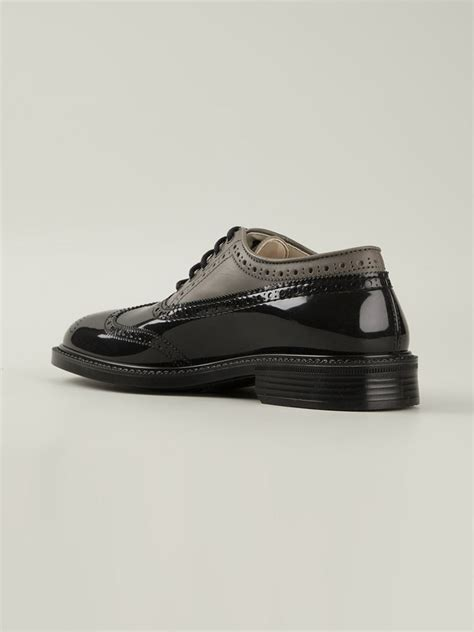 vivienne westwood classic brogue shoes in black for lyst