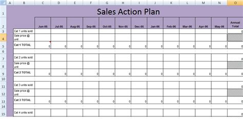 sales project management template get sales plan template xls excel project