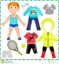 paper doll clothes template 7 best images of printable boy clothes winter clothes