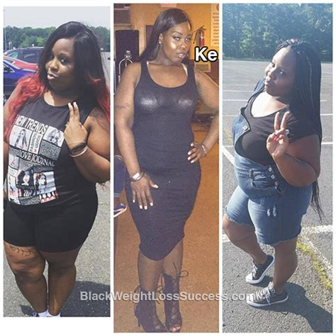 weight loss 90 pounds ke lost 90 pounds black weight loss success