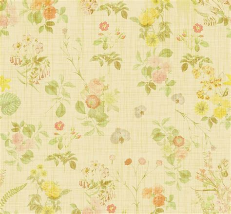 floral wallpaper vintage background free stock photo
