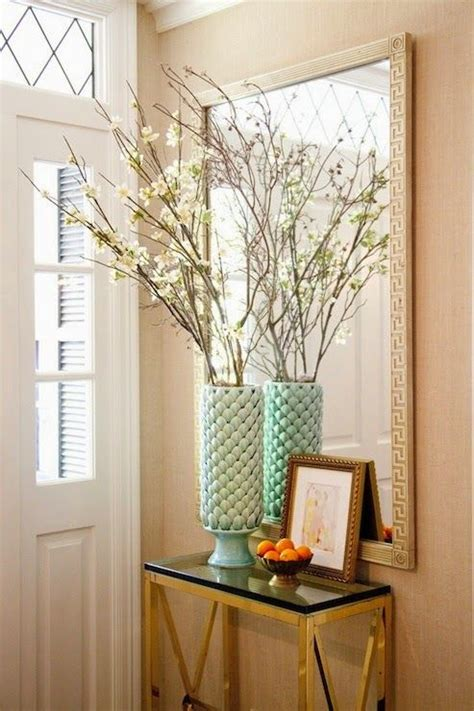 Small Table For Entryway Entryway Small Table And Mirror For The Home Pinterest