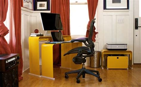 One Less Desk by 50 Curved Desk To Set The Mood For Your Home Office