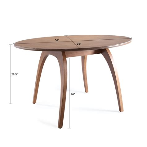 Beckett S Table by Beckett Oval Dining Table Deco Walnut Home Furniture
