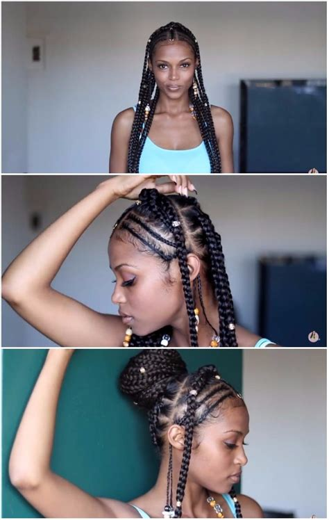 10 african hair braiding styles bellafricana digest alicia keys in braids fulani braids braids with beads